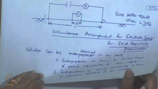 Mod-01 Lec-27 Surface Investigation of ground water (Contd.):Electrical resistivity