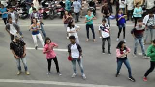 FlashMob@The Hangout V.V.MahalRoad Tirupati