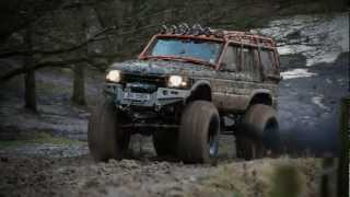 Monster Tuning land rover 8x8 defender and discovery monster truck