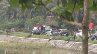 Nurdin Krakitan Pawai di Rowo Jombor Habis Dilantik Kepala Desa Krakitan