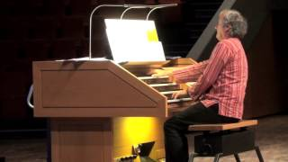 Fanfare on D-G-f-H for organ by Hans-André Stamm