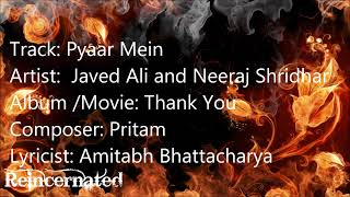 Pyaar Mein-Thank You (2011)
