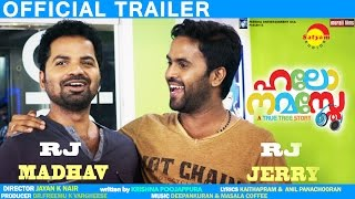 Hello Namasthe | Official Trailer | Vinay Forrt | Bhavana | Miya | Sanju
