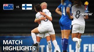 New Zealand v Finland - FIFA U-17 Women's World Cup 2018™ - Group A