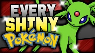 EVERY SHINY POKEMON In The Pokemon Games!