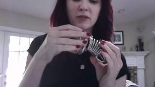 It's Chastity Time. Scarlett Lush is locking you up.