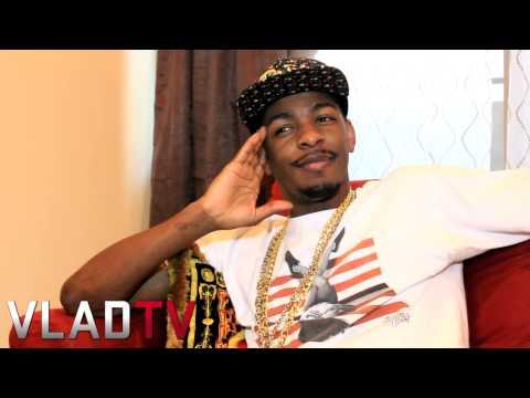 King Los on Lola Monroe Rapping Relationship & Pregnancy