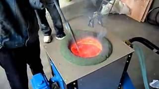 Индукционная печь ИПП-110/160М - PlayTube