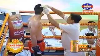 khmer Boxing, ហេង វាសនា ប៉ះ ណាចីប(បារាំង)  Kun Khmer Boxing SeaTv Boxing