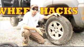 4 Wheel Removal Hacks