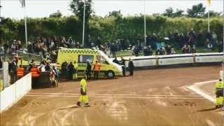 Brutal speedway crash, Greg Hancock and Martin Vaculik