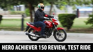 Hero Achiever 150 Review   Test Ride   QuikrCars