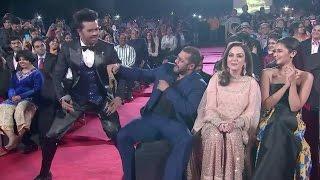 Salman Khan Funny Dance With Manish Paul At  Sansui Stardust Awards 2015 !!