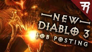 New Diablo 3 job postings! Expansion coming? Diablo 4? Diablo 2 remaster?