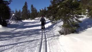 Finnish Lapland: Ylläs Kukastunturi-Kotamaja 19.3.2014 Part1/3