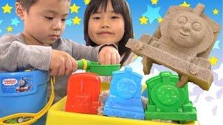 トーマス おもちゃ キネティックサンド 砂遊び Thomas And Friendstoy Kinetic Sand Toy