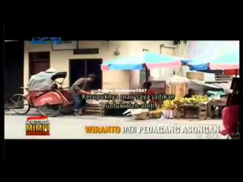 Wiranto Nyamar Jadi Pedagang Asongan