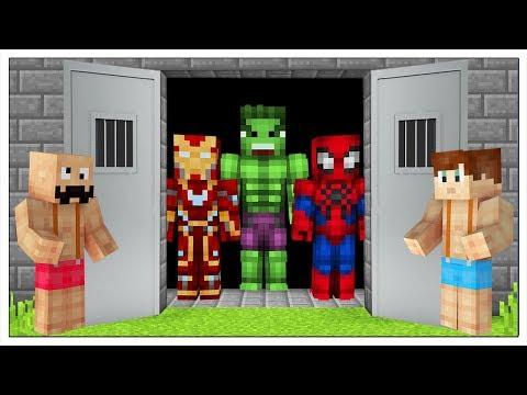 Xxx Mp4 LIBERIAMO I SUPEREROI DALLA PRIGIONE Minecraft ITA 3gp Sex