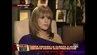 LUCIA MENDEZ EN EL PROGRAMA AL ROJO VIVO 2010