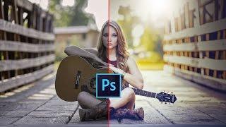 Photoshop Tutorial: Easily Photoshop Color Correction | Photoshop cc 2017