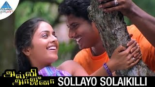 Alli Arjuna Tamil Movie Songs | Sollayo Solaikili Video Song | Manoj | Richa Pallod | AR Rahman