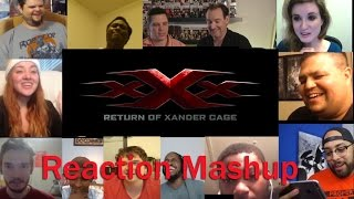 xXx  The Return of Xander Cage Official Trailer 1 REACTION MASHUP