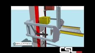 Prorunner Mk5 Vertical Elevator- Conveyor Systems Ltd