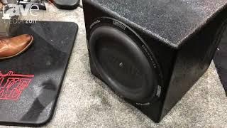 CEDIA 2017: Earthquake Sound Demos Supernova MKV-15 Subwoofer