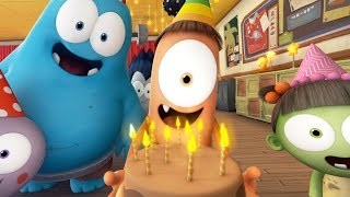 Funny Animated Cartoon | Spookiz Get Ready For The Weekend Song 스푸키즈 | Cartoon for Children