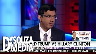D'Souza: How Trump Can Knock Out Hillary In The Final Debate
