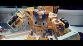Transformers (decepticon) mudflap trailer stop motion