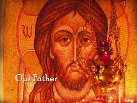 The Lord s Prayer Otche Nash Отче Наш Slavonic with English