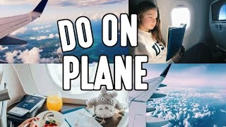 Things to do on a Plane (19 Ideas)