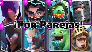 ¡CADA OVEJA CON SU PAREJA! | #RetoRoyale | Clash Royale con TheAlvaro845 | Español