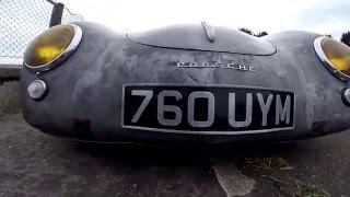 Bare metal Pre 'A' Porsche 356 Coupe by P.R.S.