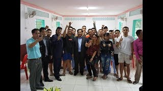 Free at last! Cambodia releases all 47 Malaysian detainees