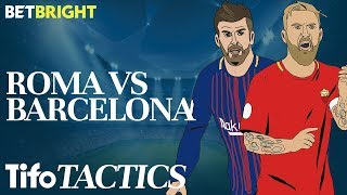 Can Roma Shock Barcelona? | Champions League Tactics