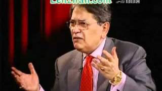 Alireza Nourizadeh on hot chair of BBC Persian TV Enayate Fani