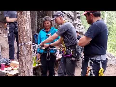 20140626 AMGA ASC Load Transfer Drill - Counter Balance Rappel to Tandem Rappel