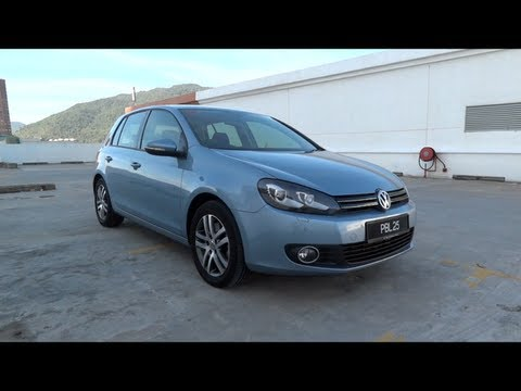 2011 Volkswagen Golf TSI Start Up and Full Vehicle Tour
