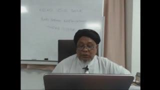 kelas usul tafsir di Madrasah Tafsir Sunnah  (MTS 19-9-2018)