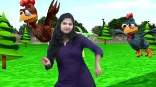 Two Little Dicky Birds || Action Nursery Rhyme For Kids