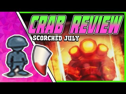 July Scorched Crab A REVIEW - Boom Beach July 31/2018