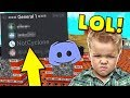 TROLLING PLAYERS ON DISCORD?! - Minecraft Trolling