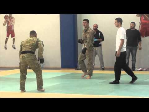 Georgian armed forces Khridoli championship 2013.G.Makharashvili vs T.Janashia 80kg.1 4 finale.
