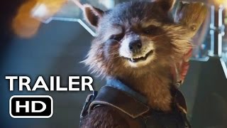 Guardians of the Galaxy Vol. 2 Official Trailer #1 (2017) Chris Pratt Sci-Fi Action Movie HD