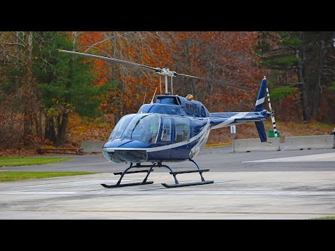 Bell 206 JetRanger helicopter review how to fly a helicopter