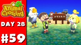 Animal Crossing: New Leaf - Part 59 - Campsite (Nintendo 3DS Gameplay Walkthrough Day 28)