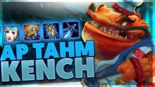I DO SO MUCH DAMAGE | FULL AP TAHM KENCH SUPPORT | BunnyFuFuu