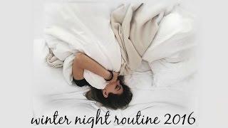 WINTER NIGHT ROUTINE 2016: VLOG STYLE l Olivia Jade